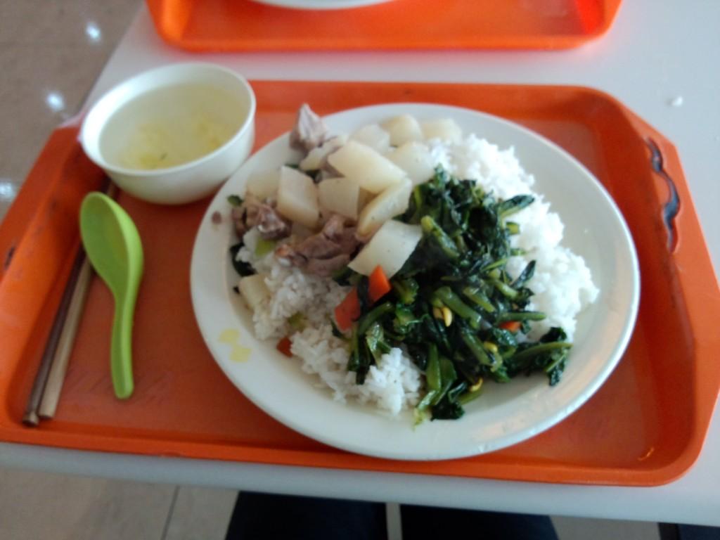 浙大食堂的饭菜